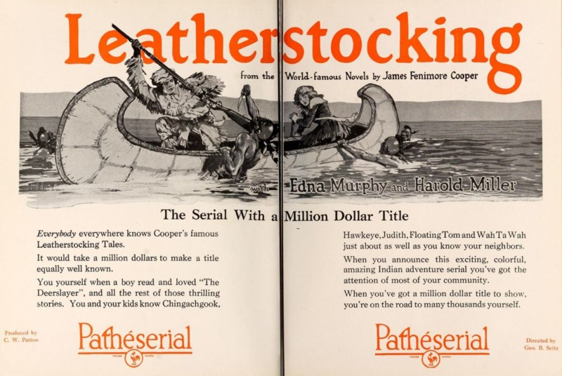 Leatherstocking two page ad