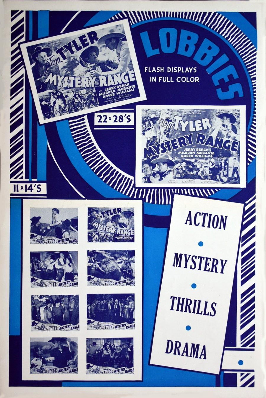 Mystery Range pressbook